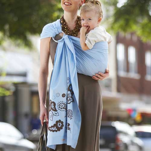 Review Ergo Baby Carrier Green Mom Happy Mom
